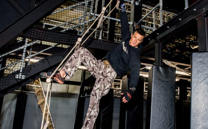 Assault course fitness Bear Grylls challenge