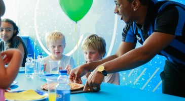 Oxygen Kids party room