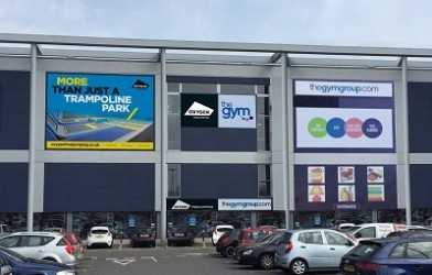 How to find Oxygen trampoline park in Southampton