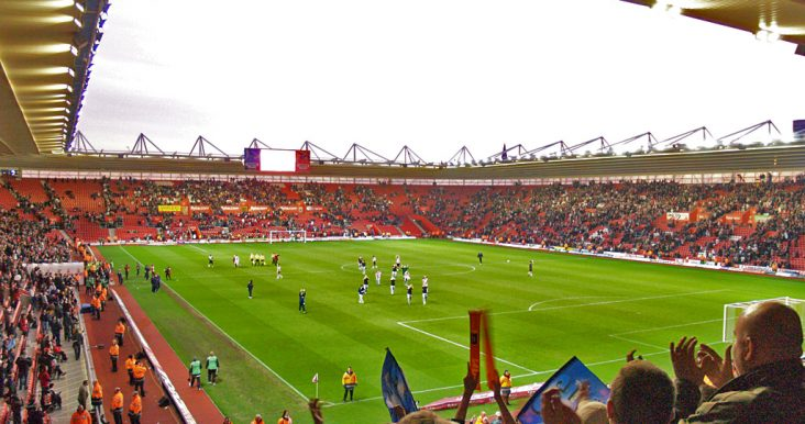 A picture of Oxygen Freejumping at Southampton Football stadium