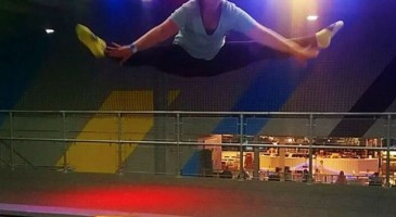 trampolining trick of the week