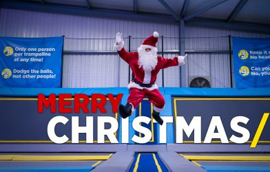 Merry Christmas from Oxygen Freejumping trampoline park