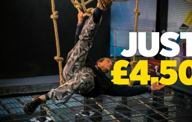 Bear Grylls fitness obstacle course training offer cheap