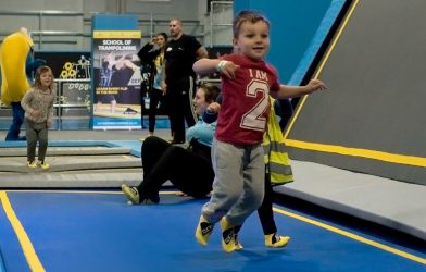 Nursery Toddler trampolining