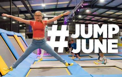 Trampoline park June event