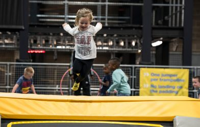 Safe and clean trampolining