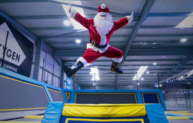 Oxygen Christmas Party trampoline park