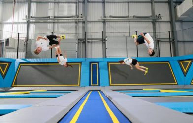 School of Trampolining Christmas Party