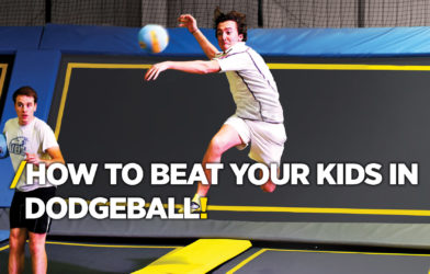 beat kids at dodgeball
