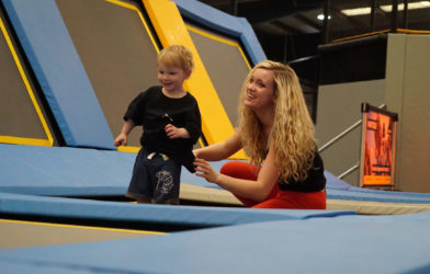 Mum and Toddler in toddler play session