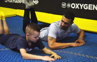Trampoline coaching