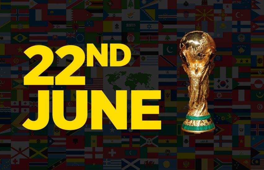 World Cup event at trampoline park