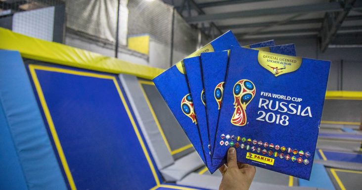 Panini FIFA World Cup Sticker Books