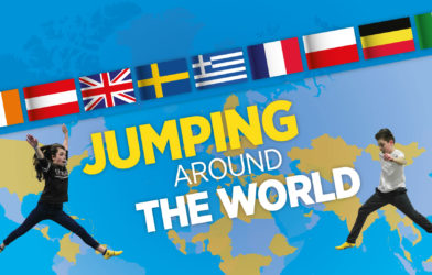 Jumping around the world blog