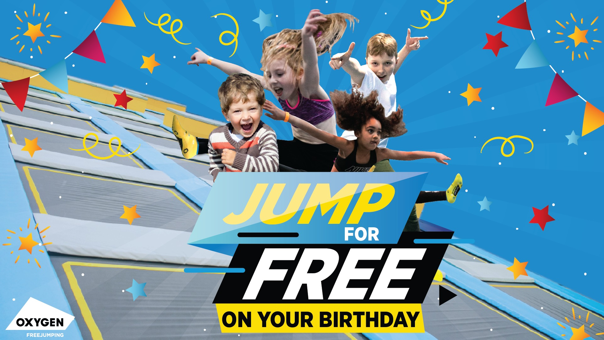 Free Freejump on your birthday