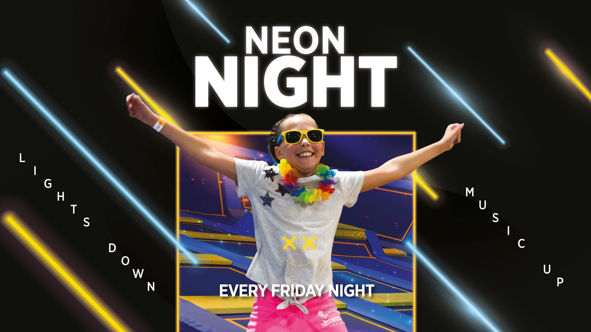 Neon Nights At Oxygen Freejumping