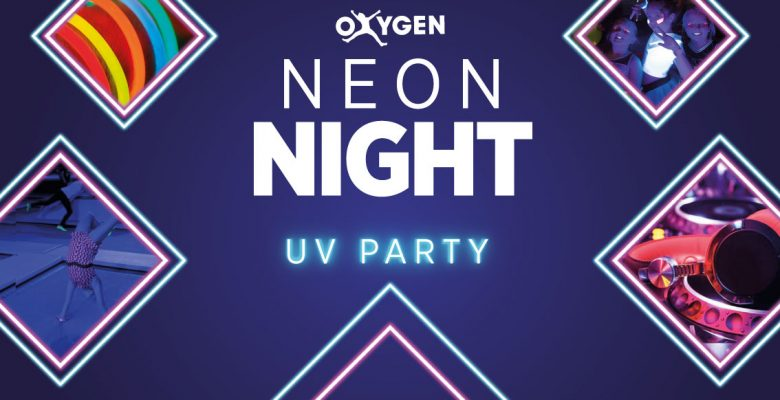 This months Neon Night – UV PARTY!