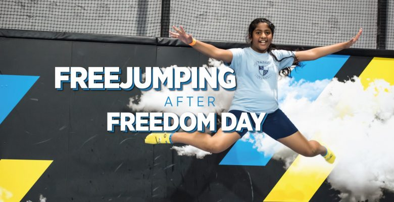 Freejumping after Freedom Day